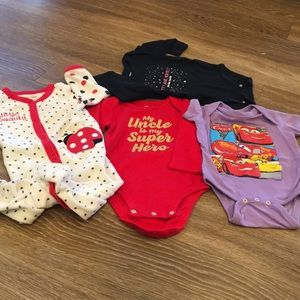 Lot of 6 month onesies
